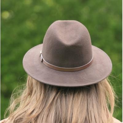 Chapeau Anglais en laine pour femme