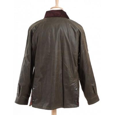 Manteau en tweed (MTW05 : manteau STANDFORD TWEED)