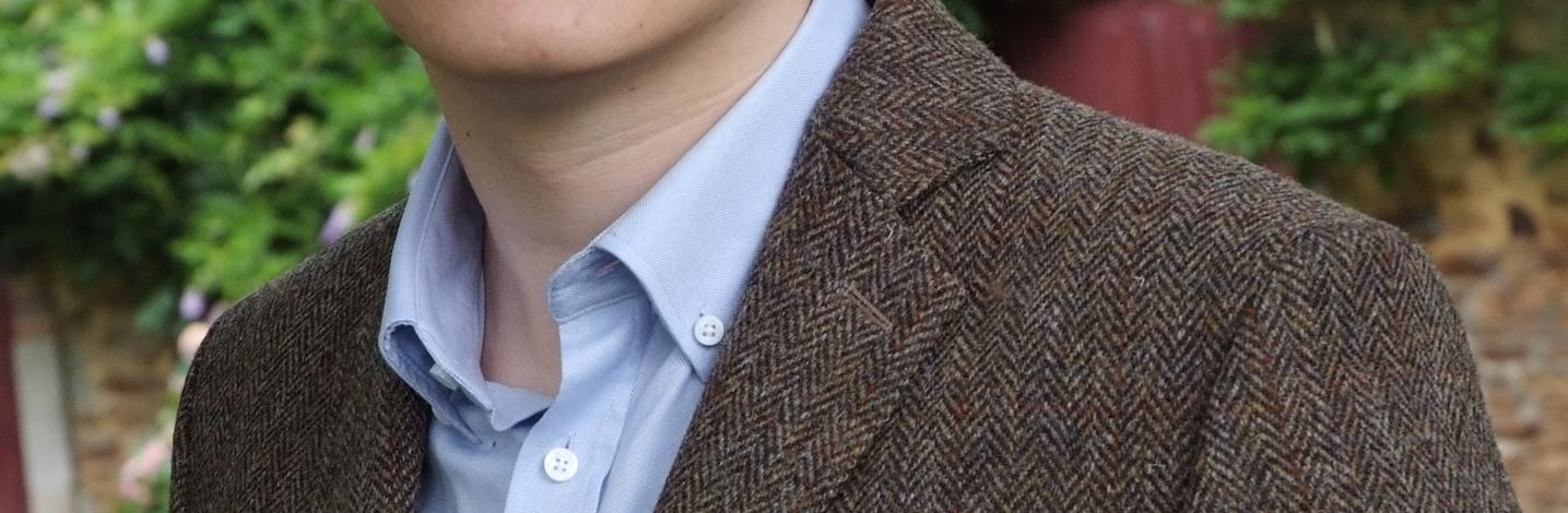 Veste en tweed ville
