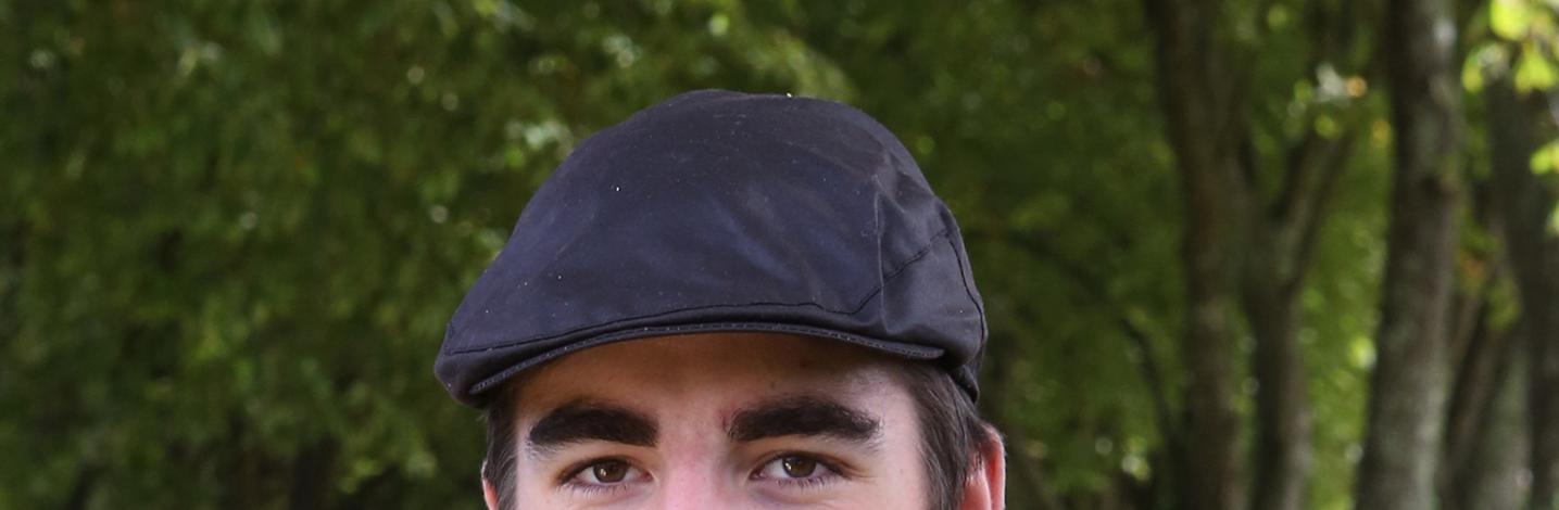 Chapeau en coton huilé imperméable