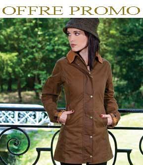 veste huile femme